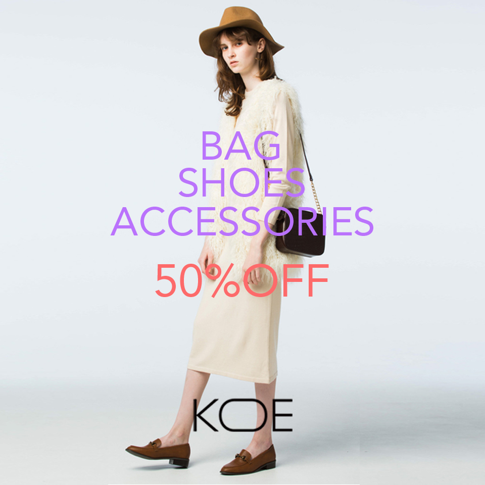 KOE SHOES BAG ACCESSORIES 30%OFF